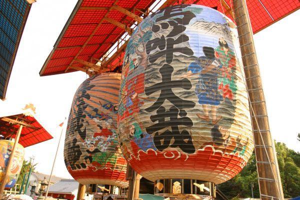 三河一色諏訪神社大提灯祭り